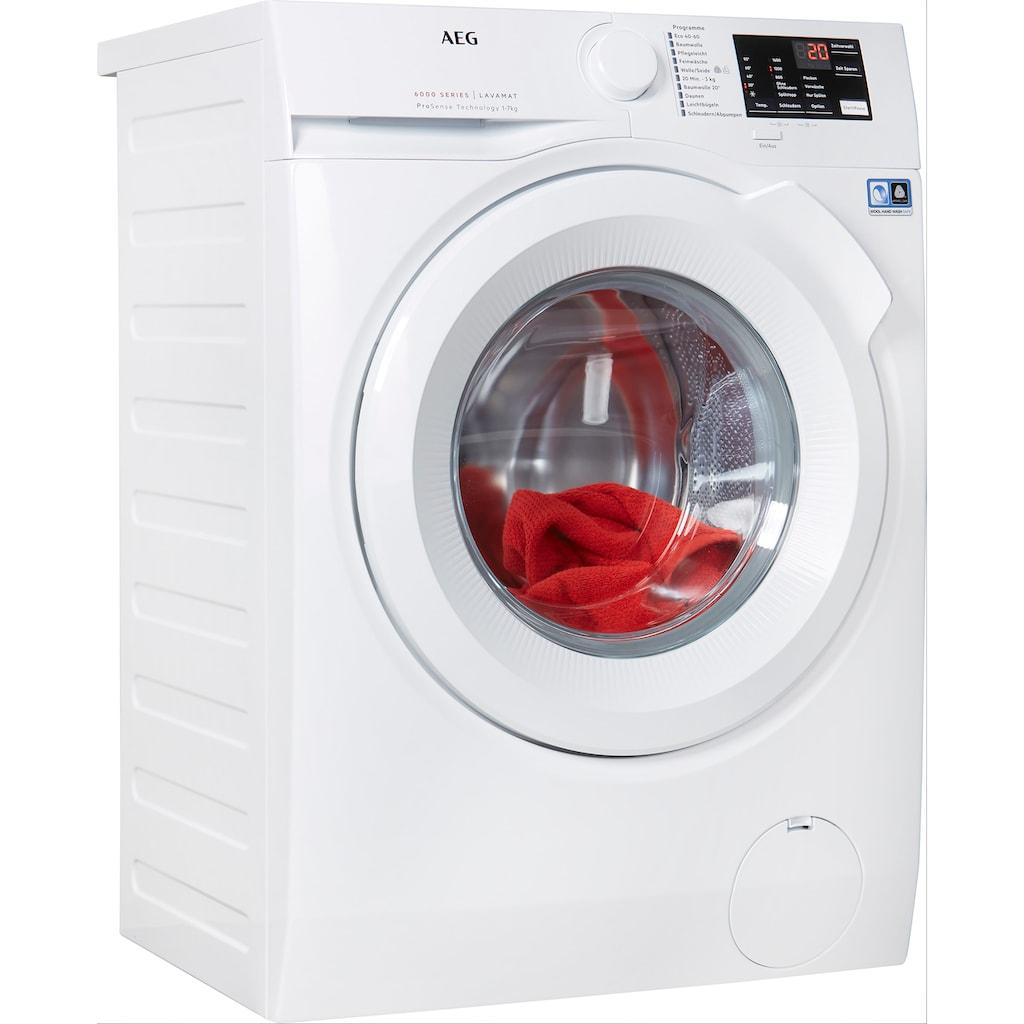 AEG Waschmaschine, L6FBA5670, 7 kg, 1600 U/min