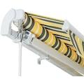 KONIFERA Gelenkarmmarkise »250x200 cm«, Breite: 250 cm, Ausfall: 200 cm, Neigungswinkel verstellbar