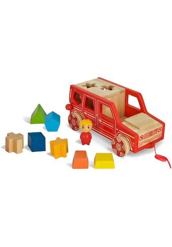 Eichhorn Spielbausteine »Mercedes Steck-G Klasse«, (Set, 9 St.), FSC®-Holz aus... kaufen