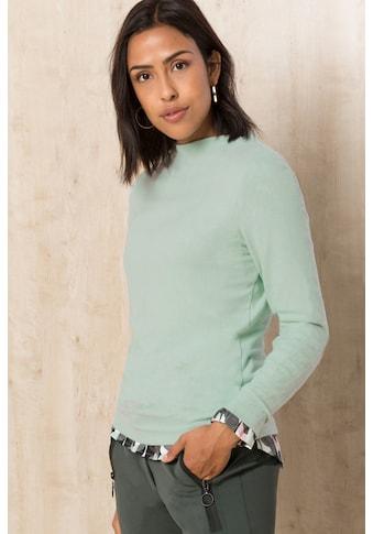 "bianca Langarmshirt »ELA«, Viskosemix in angesagter Trendfarbe ""crystal"" kaufen"