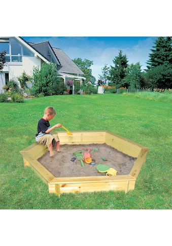 PROMADINO Sandkasten »Fynja«, BxLxH: 148x173x21 cm kaufen