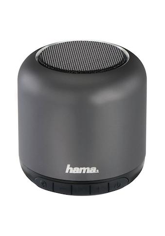 """Hama Mobiler Bluetooth®-Lautsprecher """"Steel Drum"""", Anthrazi kaufen"""