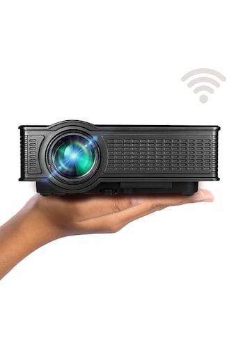 LA VAGUE LED-Beamer »LV-HD171 WiFi«, ), unterstützt 720p/1080p, ideal zum Streamen von Netflix kaufen