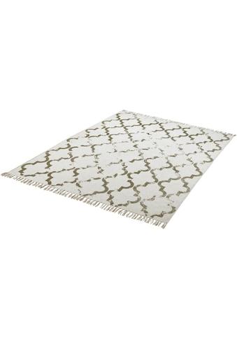 Obsession Teppich »My Stockholm 341«, rechteckig, 10 mm Höhe, Flachgewebe, handgewebt,... kaufen