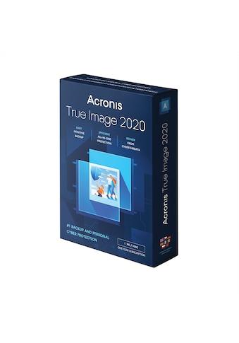 Acronis Anwendungssoftware »True Image 2021 mit 250 GB Acronis Cloud Storage 1 Gerät -... kaufen