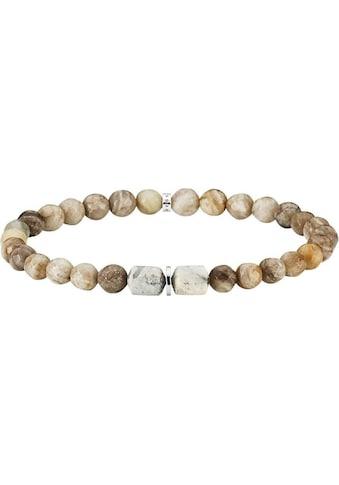 BALDESSARINI Armband »Y2173B/90/GO«, mit Jaspis, Achat und Hämatit kaufen