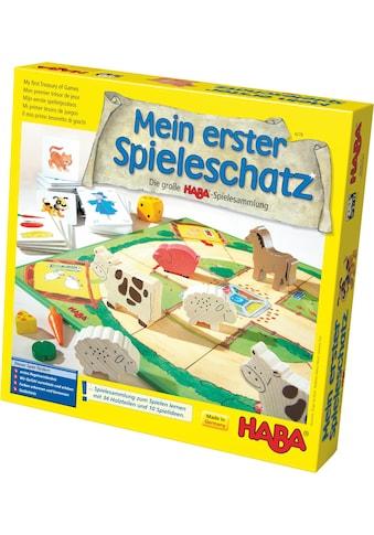 Haba Spielesammlung »Mein erster Spieleschatz - Die große HABA-Spielesammlung«, Made... kaufen