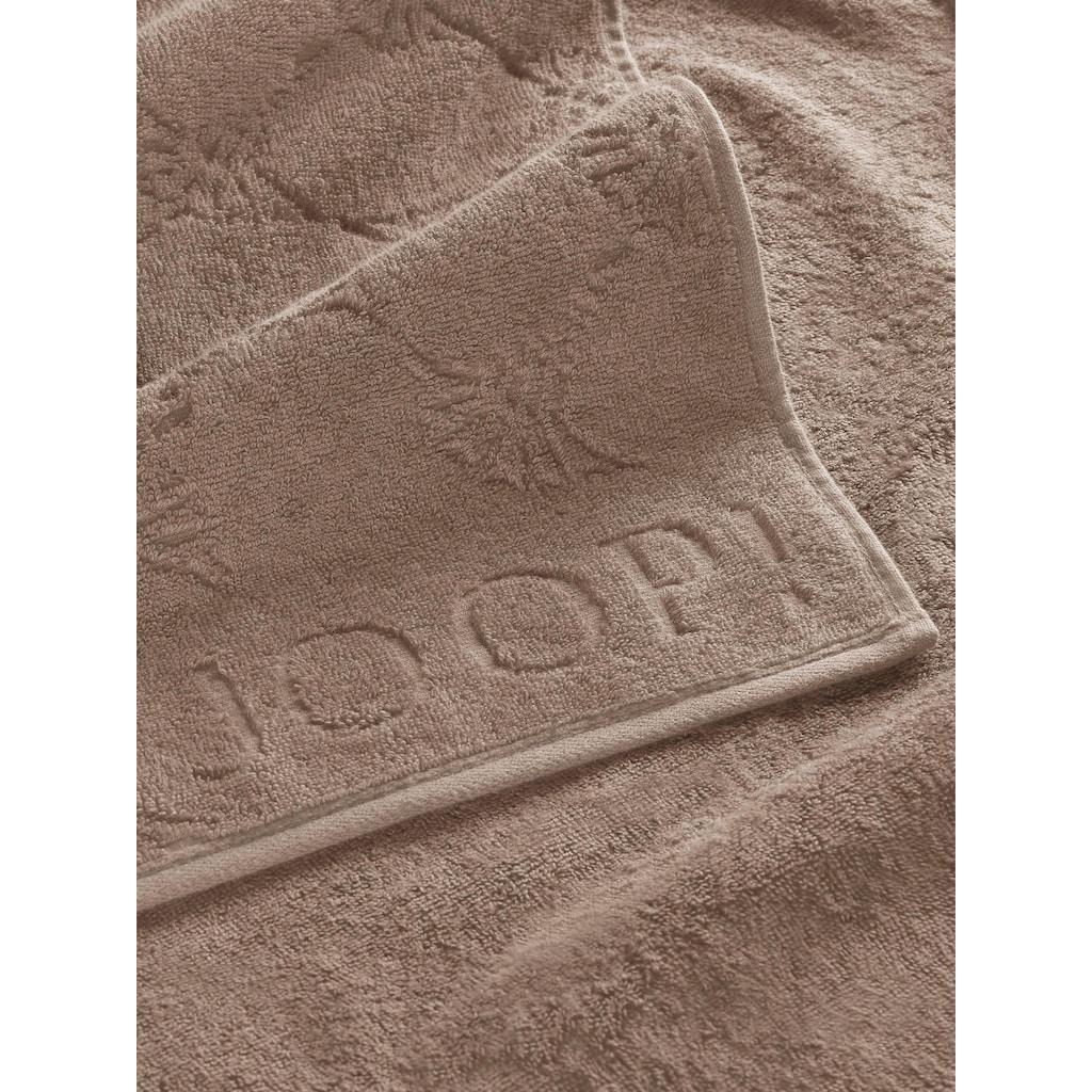 Joop! Gästehandtücher »JOOP! UNI-CORNFLOWER«, (3 St.), mit Kornblumen-Muster