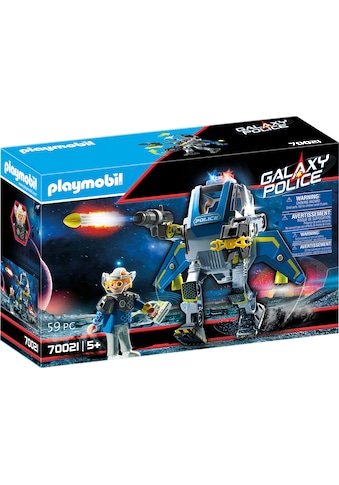 Playmobil® Konstruktions-Spielset »Galaxy Police-Roboter (70021), Galaxy Police«, Made... kaufen