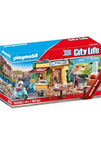 Playmobil® Konstruktions-Spielset »Pizzeria mit Gartenrestaurant (70336), City Life«, (167 St.), ; Made in Germany kaufen