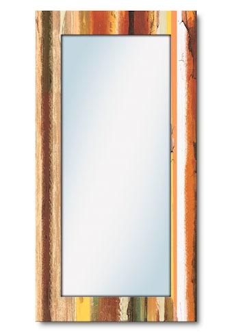 Artland Wandspiegel »Trautes Heim«, gerahmter Ganzkörperspiegel mit Motivrahmen,... kaufen