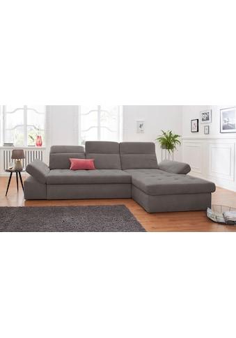 sit&more Ecksofa »Stardust«, wahlweise mit Bettfunktion und Bettkasten kaufen