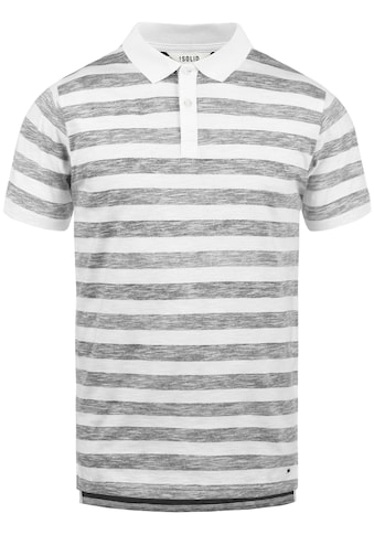 Solid Poloshirt »Teto«, Kurzarmshirt mit Streifen kaufen