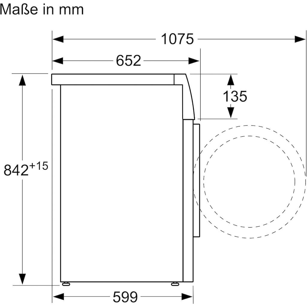 BOSCH Wärmepumpentrockner »WTH83V20«, 4
