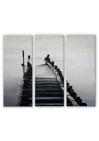 Wall-Art Mehrteilige Bilder »Schwarz Weiß Fotografie«, (Set, 3 St.) kaufen