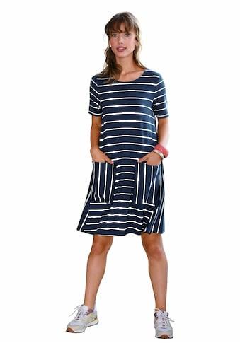 Looxent Jerseykleid »Jersey-Kleid mit 1/2-Arm«, Einsätze kaufen