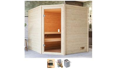 Karibu Sauna »Tami«, 4,5-kW-Ofen mit int. Steuerung kaufen
