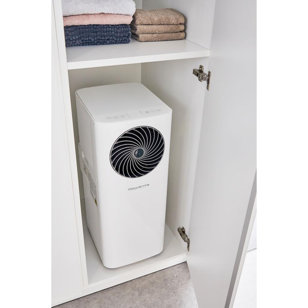 Rowenta 3-in-1-Klimagerät »AU5020F0«, Mobile Klimaanlage, Ventilator, Luftentfeuchter in Einem; Fensterdichtung, Schlauch & Fernbedienung inklusive; Eco-Modus