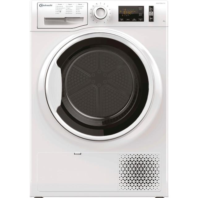 BAUKNECHT Wärmepumpentrockner T SENSE M11 8X3WK DE, 8 kg