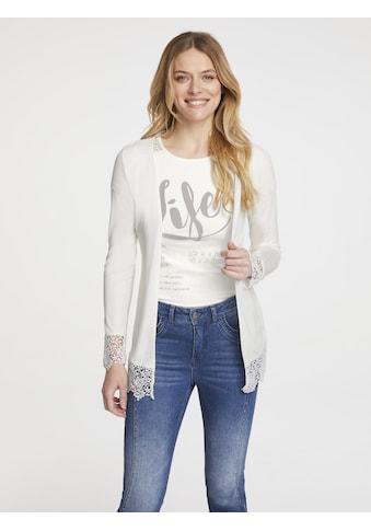 Shirt-Twinset mit Spitze kaufen