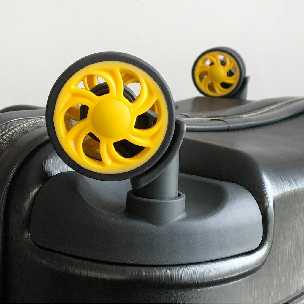 RONCATO Hartschalen-Trolley »Stellar, 76 cm«, 4 Rollen, mit Volumenerweiterung