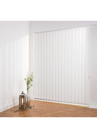 Liedeco Lamellenvorhang »Lamellenvorhang Vertikalanlage perlex - 127 mm Lamelle«,... kaufen