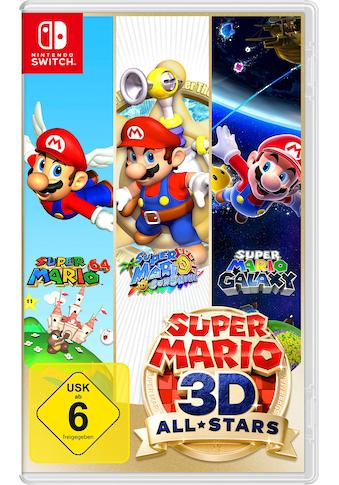 Nintendo Switch Spiel »Super Mario 3D All-Stars«, Nintendo Switch kaufen