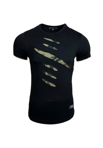 Rusty Neal T-Shirt mit coolen Cutouts kaufen