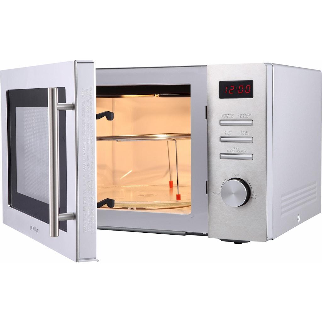 Privileg Mikrowelle »654094«, Grill, 1000 W