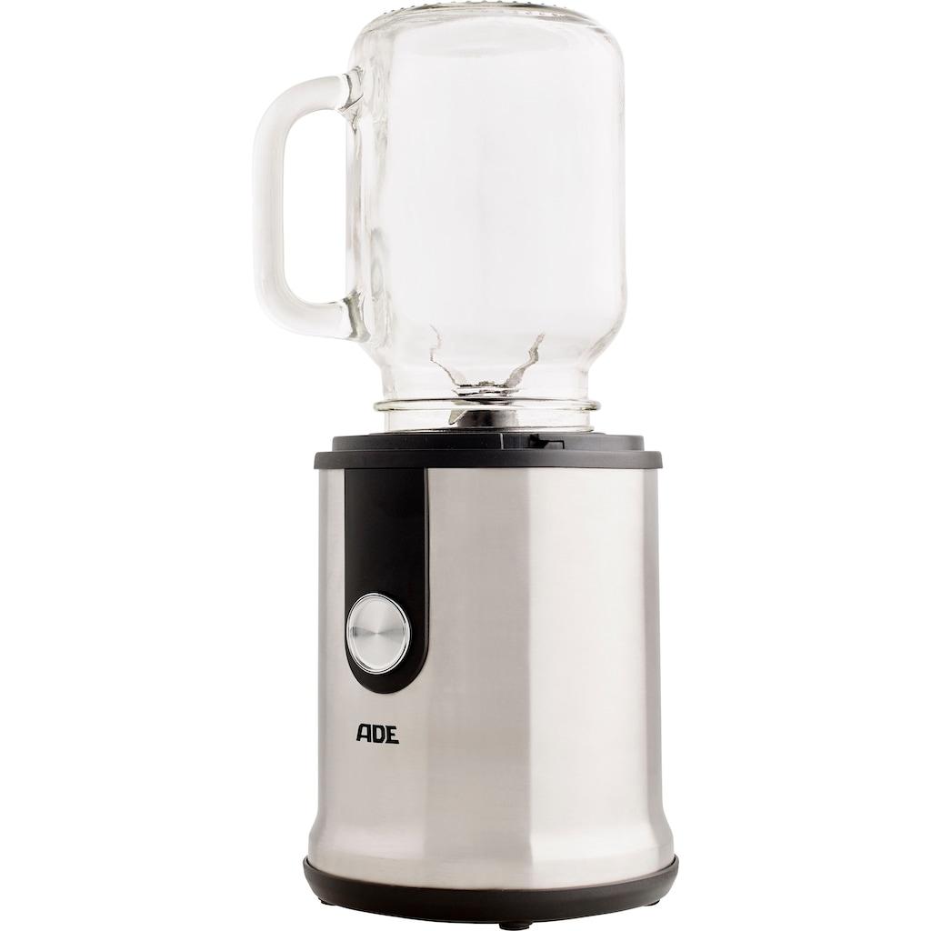 ADE Smoothie-Maker »KA1823«, 300 W, inkl. Trinkflasche, Glasbecher und 2 Gewürzmühlen/Kaffeemühle