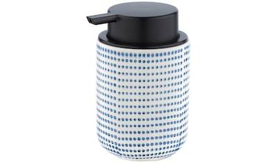 WENKO Seifenspender »Nole«, Flüssigseifen-Spender, Spülmittel-Spender, Keramik, 300 ml kaufen
