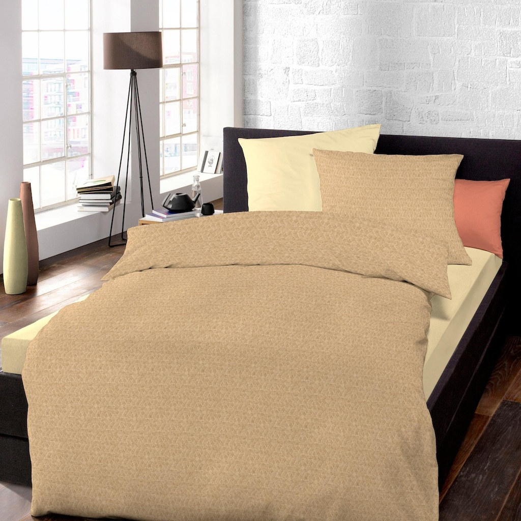 Schlafgut Bettwäsche »Donegal«, Mix & Match, aus zertifizierter Bio-Baumwolle