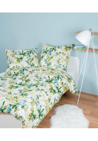 Janine Bettwäsche »moments 98056«, mit floralem Muster kaufen