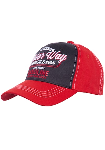 KingKerosin Baseball Cap »Motor Way«, mit Frontstickerei kaufen