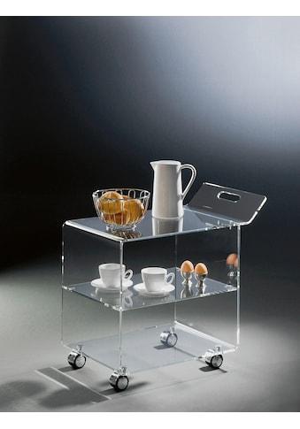 Places of Style Küchenwagen »Remus«, aus Acrylglas kaufen
