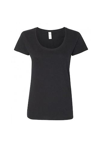 Gildan T - Shirt »Damen Kurzarm Scoop« kaufen