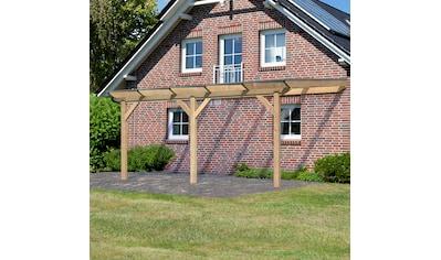 KARIBU Terrassendach »Premium Gr. B«, Breite 512 cm, in verschiedenen Tiefen, gerade Kopfbänder kaufen