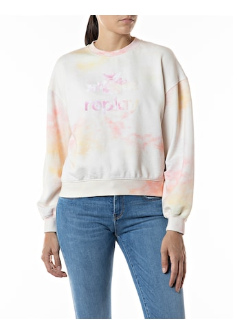 Replay Sweatshirt, mit Logo-Print kaufen