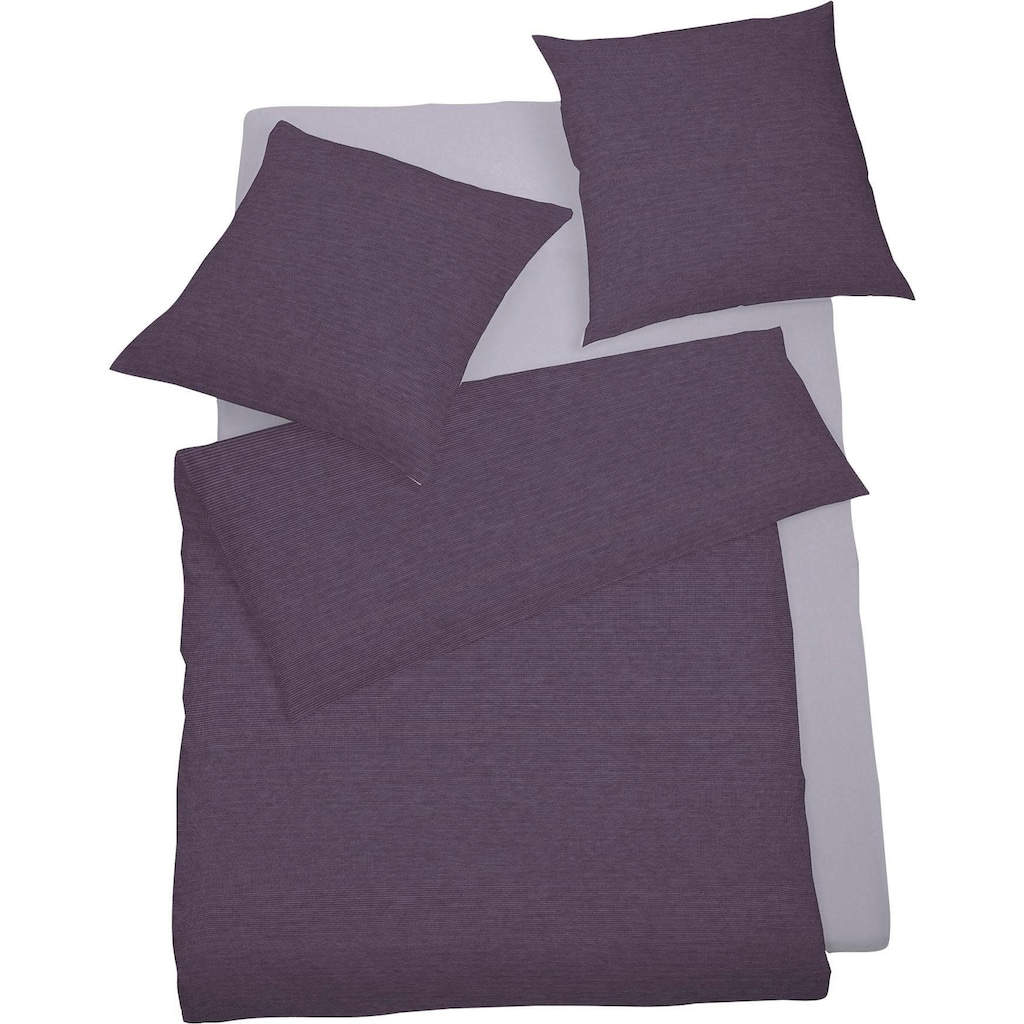 Schlafgut Bettwäsche »Mako-Satin«, mit zartem Seidenglanz