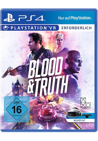 PlayStation 4 Spiel »Blood & Truth VR«, PlayStation 4 kaufen