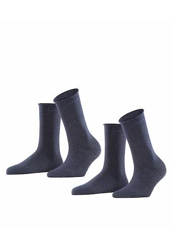 Esprit Socken »Basic Pure 2-Pack«, (2 Paar), mit hohem Baumwollanteil kaufen