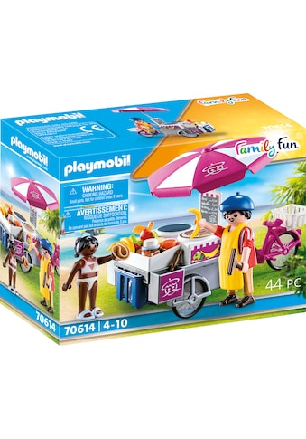 Playmobil® Konstruktions-Spielset »Mobiler Crêpes-Verkauf (70614), Family Fun«, (44... kaufen