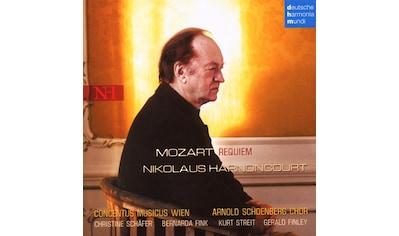 Musik-CD »Mozart: Requiem / HARNONCOURT,NIKOLAUS/CONCENTUS MUSICUS WIEN« kaufen