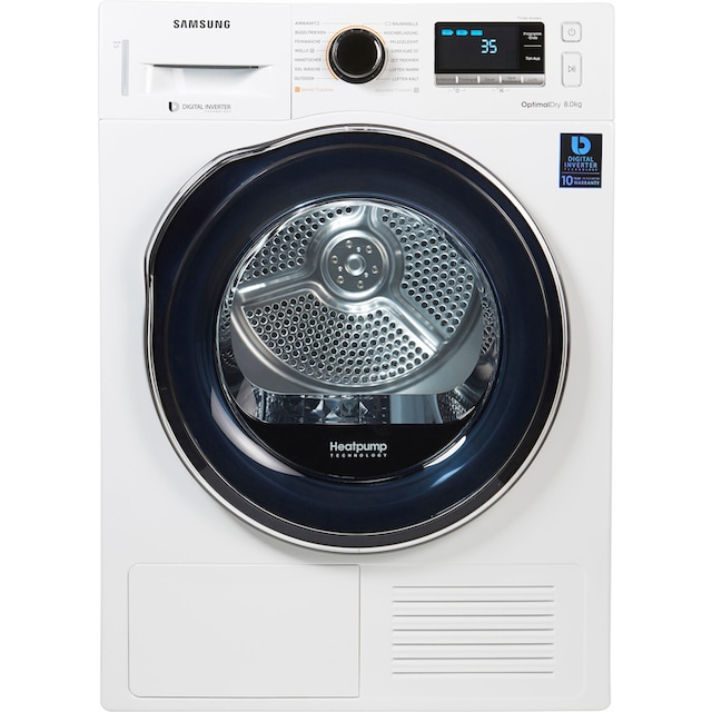 Samsung Wärmepumpentrockner DV6000 DV81M6210CW/EG, 8 kg
