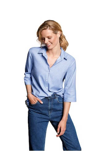 DAY.LIKE Kurzarmbluse »Bluse mit 3/4 - Arm« kaufen