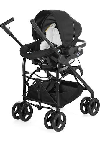 Chicco Kombi-Kinderwagen »Trio-System Sprint, black night«, mit Regenschutz kaufen