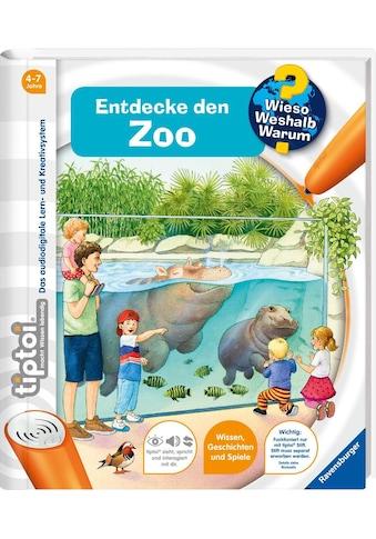 Ravensburger Buch »tiptoi® WWW Entdecke den Zoo«, Made in Europe kaufen