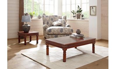 Home affaire Couchtisch »Jaya«, mit dekorativen Fräsungen an den Beinen kaufen