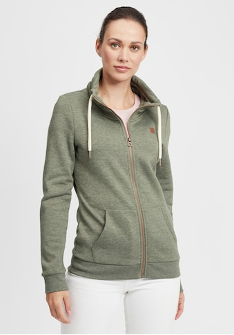OXMO Kapuzensweatjacke »Vicky«, Sweatshirtjacke mit Stehkragen kaufen