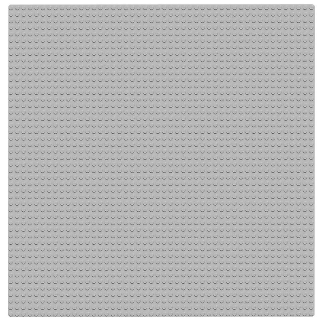 LEGO® Konstruktionsspielsteine »Graue Grundplatte (10701), LEGO® Classic«, (1 St.)